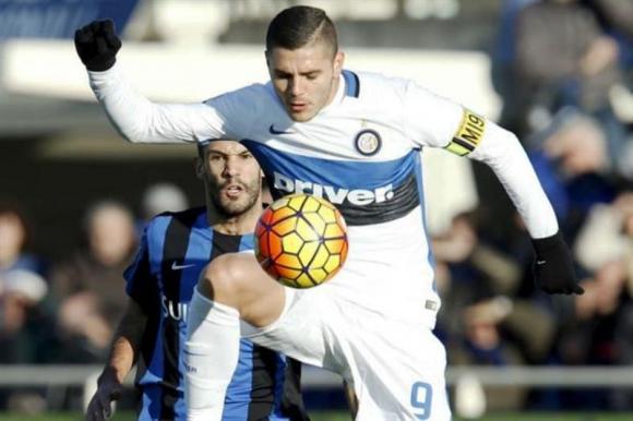Mauro Icardi, capitán y goleador del Inter de Milán.Foto: Reuters.