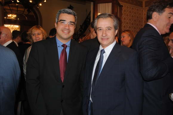 Claudio Alonso, Washington Martínez.