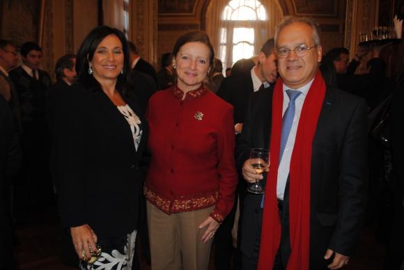 Cristina Itté, Claire Poulin, Sylvain Itté.