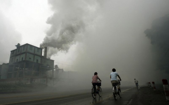 OMS alerta por la calidad del aire. Foto: AFP