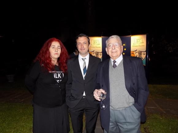 Gabriela Gomez, Carlos Buffa, Carlos Cassina.