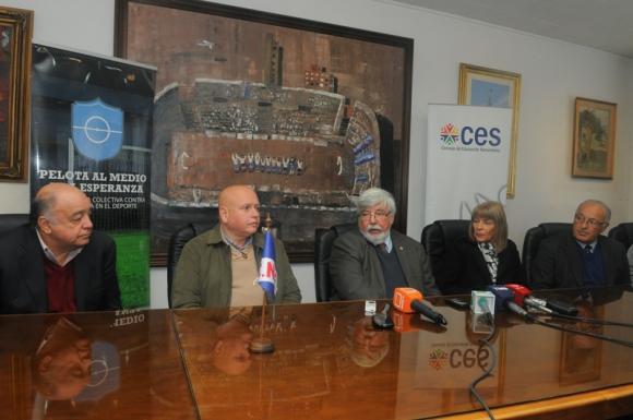 La presentación de la actividad se realizó en la sede tricolor. Foto: Ariel Colmegna.