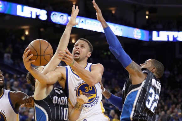 Stephen Curry. Foto: AFP.