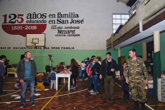 Sendic visitó zonas afectadas. Foto: Parlamento
