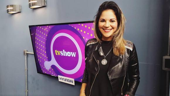 Clarisa Abreu en Tv Show.