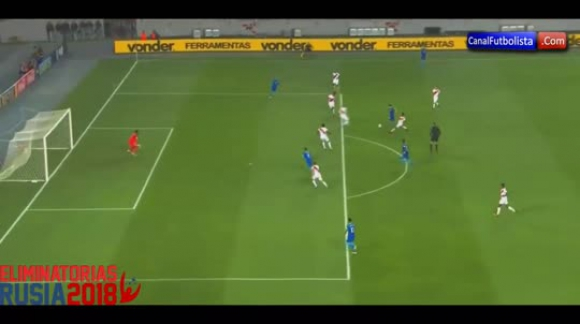 Perú 0-2 Brasil Resumen GOLES Eliminatorias 2016