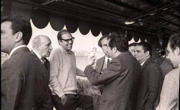 Batlle en 1970. Foto: Archivo El País.
