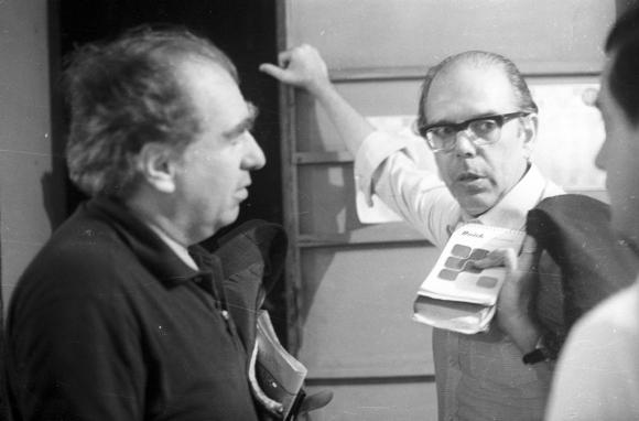 Jorge Batlle y Julio María Sanguinetti en los años 80. Foto: Archivo EL PAÍS