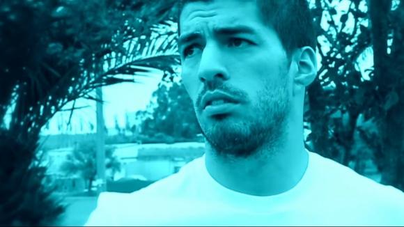 Luis Suárez en el video de Márama. Foto: captura