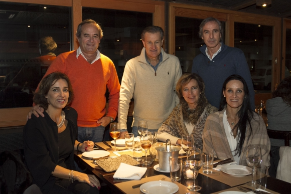 Florencia Lussich, Horacio García Terra, Gabriel Gurméndez, Felipe Lanza, Laura Piñeyro, Catana Braga.