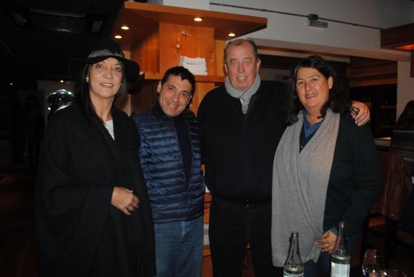 Mabel Arrillaga, Barbaros Algun, Luis González, Margarita Palatnik.