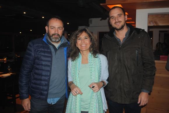 Nelson Blanco, María Fernández, Jake Frost.