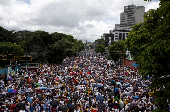 El MUD planea un cronomgrama de movilizaciones. Foto: Reuters
