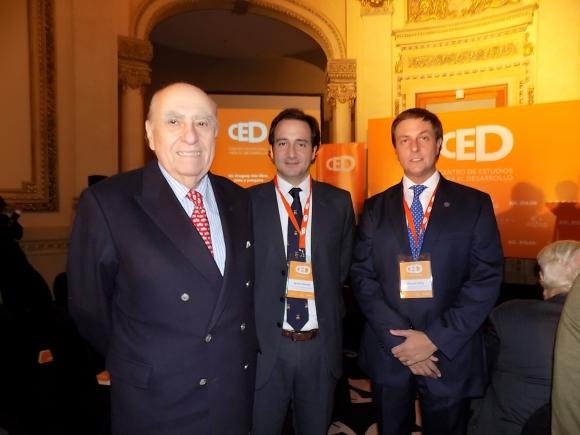 Julio María Sanguinetti, Ignacio Munyo, Ricardo Reilly.