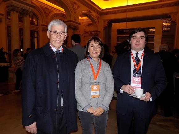 Guillermo Dutra, Analía Piñeyrúa, Pablo Viana.