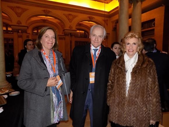 Rosario Medero, Antonio Mercader, Julia Rodríguez Larreta.