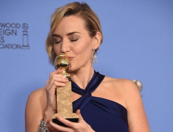 "Kate Winslet ganadora del Globo a Actriz de Reparto por ""Steve Jobs"""
