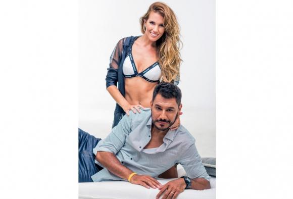 Nadia Theoduloz y Damián Herrera. Foto: Danial Ayala Producción: Jorge Cruz