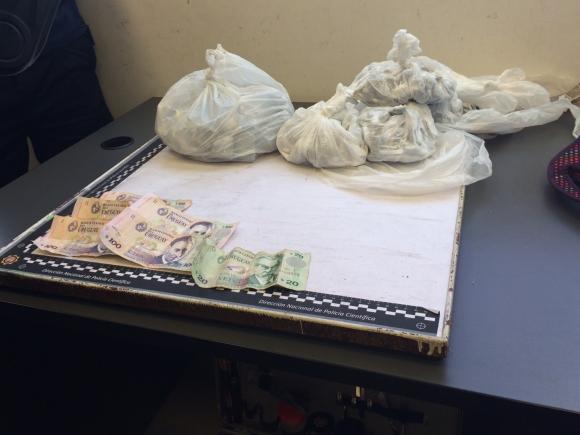 También se incautaron drogas en el operativo. Foto: Archivo