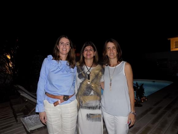 Carola Scheck, Macarena Caldeyro, Inés Bonicelli.