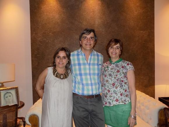 María Caldeyro, Guillermo Rey, Susana Rey.