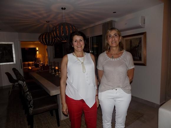 Sandra y Gabriela Rachetti.