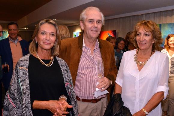Maria L Lamas, Gerardo y Cristina Araujo.