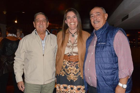 Carlos García Santos y Sra, Raul Giuria.