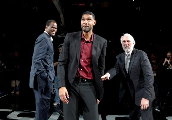 Tim Duncan se retiró de la NBA. Foto: AFP
