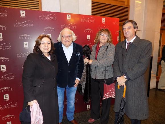 Ana Olivera, Ricardo Alarcón, Hortensia Campanella, Alvaro García.