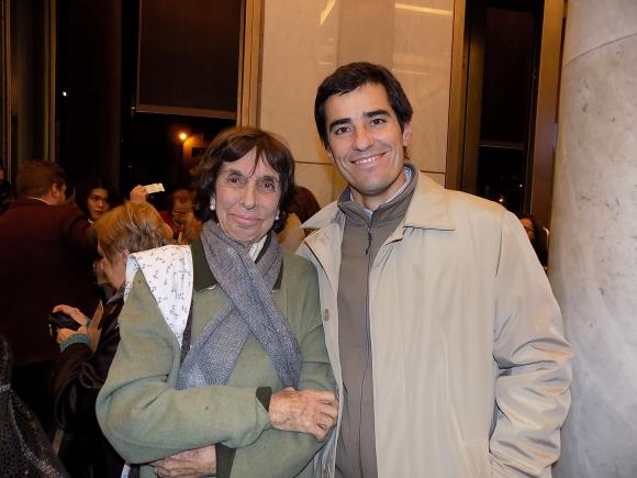 Nelly Zambrano, Mateo Deambrosi.