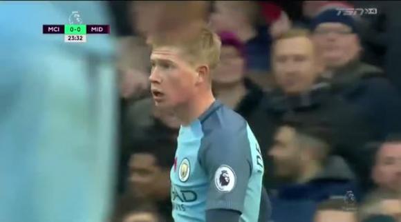 Manchester City 1-1 Middlesbrough - Premier League