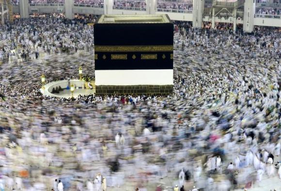 La Meca: a partir de mañana esperan 1,4 millones de peregrinos. Foto: Reuters