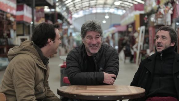 Facundo junto a Pablo y Pachu en Buenos Aires.