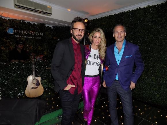 DJ Chule Bernardo, DJ Puli Demaria, Javier Iturrioz.