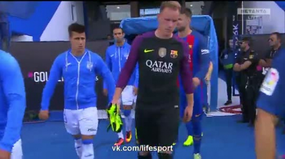 Barcelona - Leganés. 17/09/2016