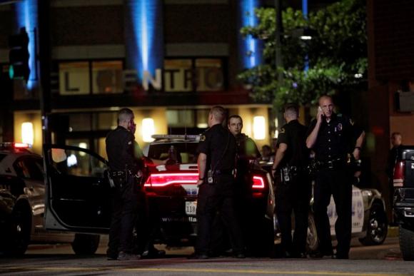 Cinco policías murieron tras tiroteo en Dallas. Foto: EFE.