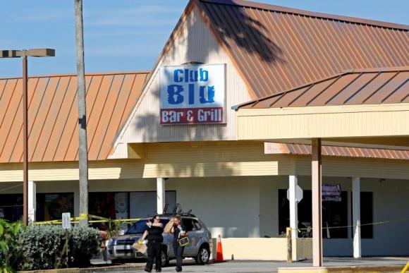 Club Blu, donde ocurrió el ataque. Foto: Reuters.