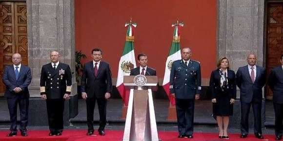 Enrique Peña Nieto confirmó la recaptura de Guzmán. Foto: Captura