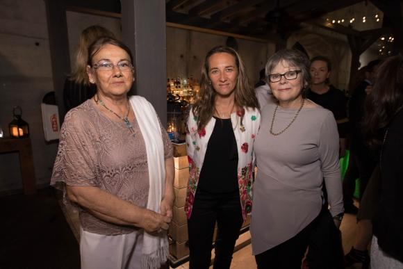 Mary Terra, Mildred Prantl, Lucia Trujillo.