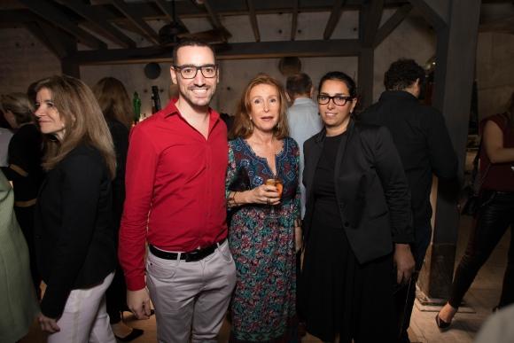 Piero Atchugarry, Dina Villar, Laura Bardier.