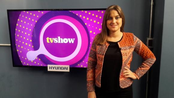 Ximena Pérez en Tv Show.