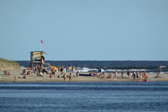 Playa el Arroyo en la Barra. Foto: Ricardo Figueredo