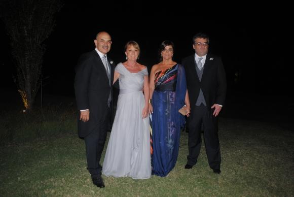 Fernando Melissari, Gabriela Poetti,  Paula Bianchi, Diego García.