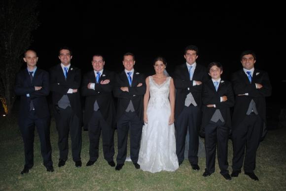 Leandro Correa, Facundo García, Jerónimo, Renzo y Tiziana Melissari, Nicolás, Manuel y Agustín García.