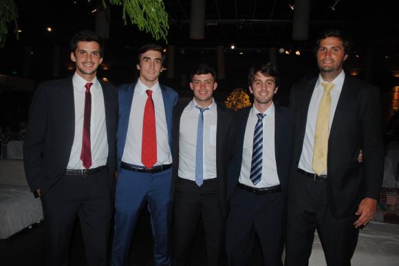 Francisco Nopitsch, Lorenzo Queirolo, Gerardo Simón, Juan Methol, Luis Morales.