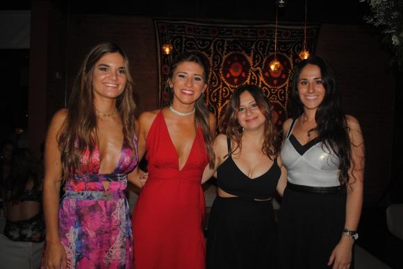 Florencia Sánchez, María Figueredo, Milagros Shaw, Valentina Álvarez.