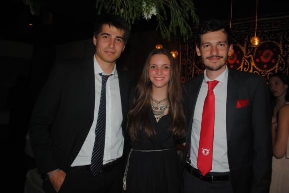 Manuel Estrada, María Sol Cavalli, Ron Madera.