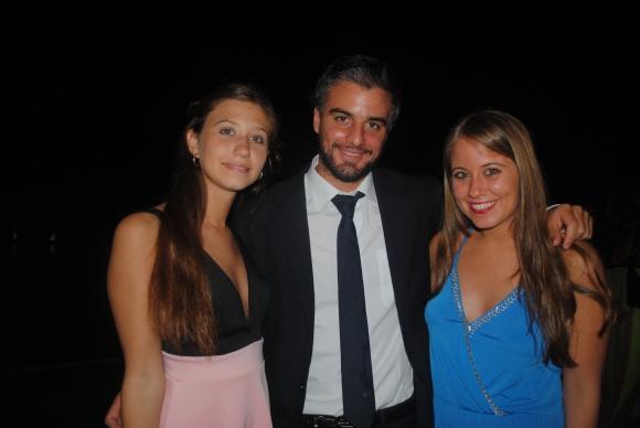 Victoria Santos, Diego Hermida, Antonella Ocaso.
