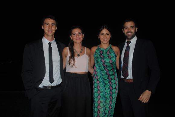 Diego Secco, Lucía Secondo, Jessica Ladino, Martín Viggiano.